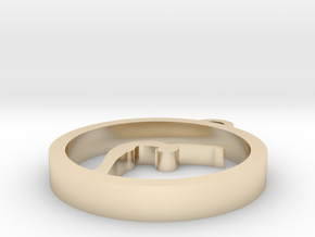 031yoga in 14k Gold Plated Brass