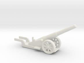 canon de 14cm 1892 saint chamond 1/285 6mm  in White Natural Versatile Plastic