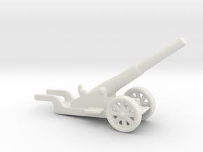 canon de 14cm 1892 saint chamond 1/285 2 6mm in White Natural Versatile Plastic