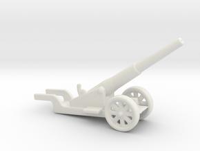 canon de 14cm 1892 saint chamond 1/100  in White Natural Versatile Plastic