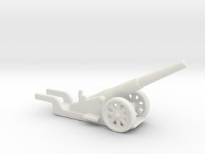canon de 14cm 1892 saint chamond 1/144  in White Natural Versatile Plastic