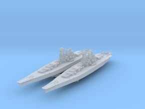 Musashi 1942 (Axis & Allies) in Smooth Fine Detail Plastic