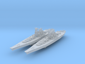 Yamato 1945 (Axis & Allies) in Smooth Fine Detail Plastic