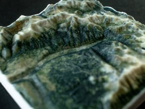 Telluride, Colorado, USA, 1:250000 Explorer in Full Color Sandstone