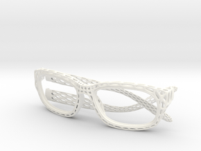 new style sunglasses in White Processed Versatile Plastic