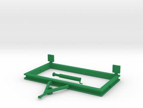 Rahmen Walze in Green Processed Versatile Plastic