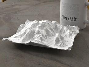 6'' Denali, Alaska, USA in White Natural Versatile Plastic