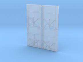 MEC Plug Doors 4 Door Set 1-87 Scale in Smooth Fine Detail Plastic