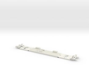 #22C - 50 81 29-03 301 Untergestell in White Natural Versatile Plastic