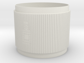 1:48 S-IC Interstage Lower in White Natural Versatile Plastic