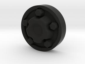 Centre Cap XJ 1.55 in Black Natural Versatile Plastic