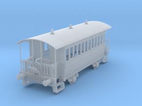 m-76fs-wisbech-tram-coach-1 in Smooth Fine Detail Plastic