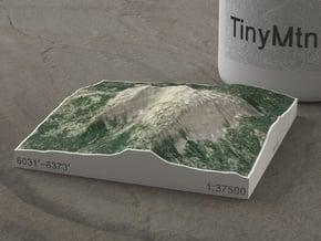 Mt. Bailey, Oregon, USA, 1:37500 in Natural Full Color Sandstone