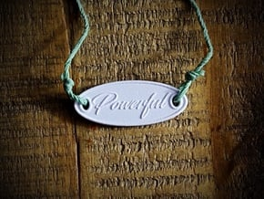 Powerful Aromatherapy Pendant in Natural Sandstone
