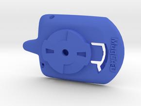 Wahoo Elemnt Bolt Puck Adaptor in Blue Processed Versatile Plastic