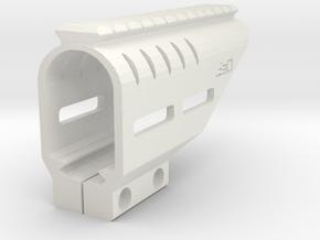 Beretta PX4 Storm RIS Top Rail with M-LOK Slots in White Natural Versatile Plastic