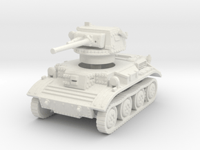 A17 Tetrarch tank 1/87 in White Natural Versatile Plastic