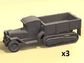 6mm ZIS-42 halftruck x3 in Smoothest Fine Detail Plastic