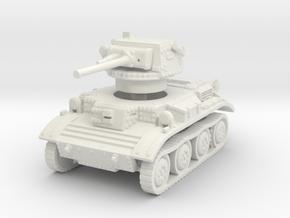 A17 Tetrarch tank 1/72 in White Natural Versatile Plastic