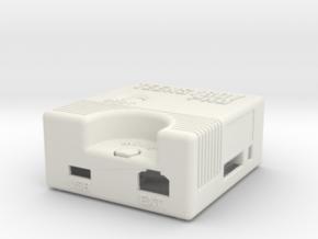 Teensyboy Pro Case (Version 1.0) in White Natural Versatile Plastic