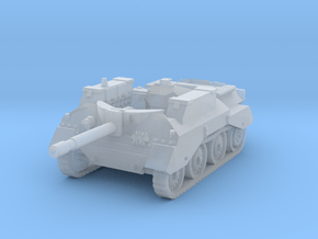 Alecto SPG tank 1/144 in Smooth Fine Detail Plastic