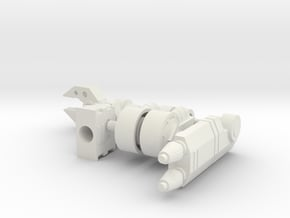 Hotshot Arms with Elbows in White Natural Versatile Plastic