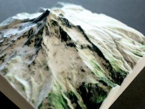 Mt. Hood, Oregon, USA, 1:50000 in Natural Full Color Sandstone