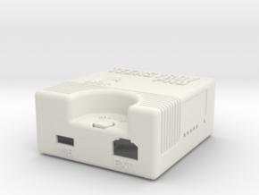 Teensyboy Pro Case (Version 2.0) in White Natural Versatile Plastic