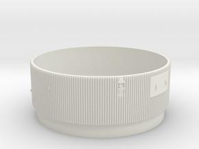 1:48 S-IC Interstage Upper Matt in White Natural Versatile Plastic