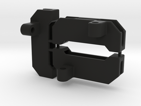 RC8B3.1 Connector Holder [Battery Box Mounted] in Black Natural Versatile Plastic