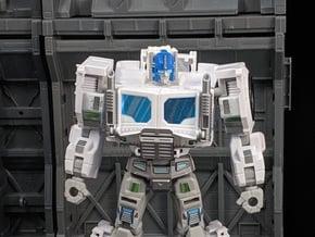 TF Titans Return Neck Adapter for PE Truck Cab in White Natural Versatile Plastic