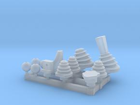 Schaltknauf Unimog 1:10 in Smoothest Fine Detail Plastic