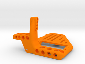 AR60 Front Truss with Tray with Diff on Right Side in Orange Processed Versatile Plastic