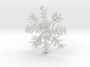 snow 1 in White Natural Versatile Plastic