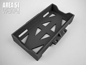 CR12 Battery Box in Black Natural Versatile Plastic