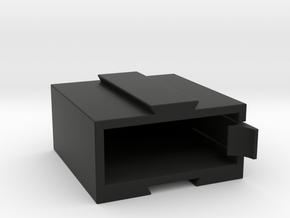 GoPro Hero 5,6 and 7 battery case in Black Natural Versatile Plastic