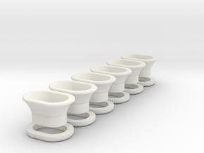 Klüsen in White Natural Versatile Plastic