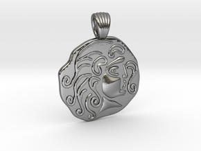 Apollo [pendant] in Polished Silver