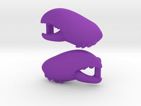 Lobster Claw Lacelock in Purple Processed Versatile Plastic