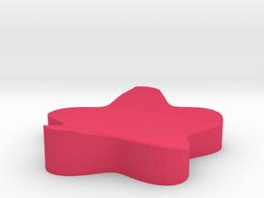 flower chopstick holder in Pink Processed Versatile Plastic: Medium