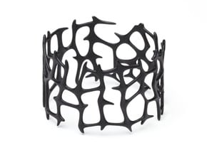 Bracelet Bluups ROOTS in Black Natural Versatile Plastic