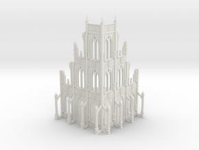 Basilica Administratum - Adeptus Titanicus Scale in White Natural Versatile Plastic