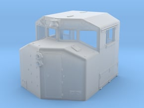 sd40-2w cab n scale in Smooth Fine Detail Plastic