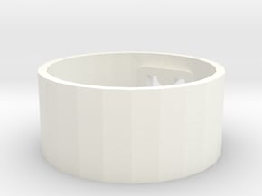 styling ring opener  in White Processed Versatile Plastic
