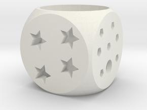 LIFE Lampshade in White Natural Versatile Plastic