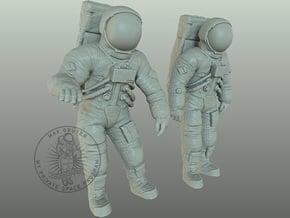Apollo 11 Astronauts 1:48 in Smoothest Fine Detail Plastic