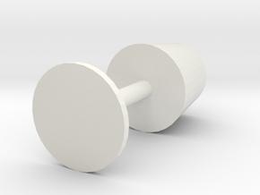 Table lamp in White Premium Versatile Plastic: Large
