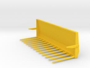 Mistgabel weise-toys Fendt 2,5m in Yellow Processed Versatile Plastic