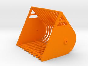 Rübenkorb Klinklader weise-toys stoll in Orange Processed Versatile Plastic
