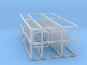 1/50 DKM Destroyer Windows Set x10 in Smooth Fine Detail Plastic